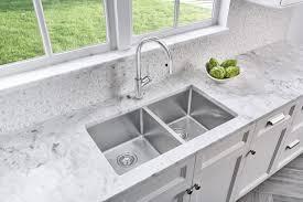 Kitchen  Kitchen Sinks With Drainboard Built In Kohler Double - Corner undermount kitchen sink