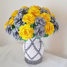 paper flower vase centerpiece wedding decorations home