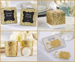 wedding party favor ideas gold glam wedding favors and supplies ideas hotref party gifts