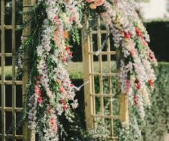 Wedding Trellis Flowers Bohemian Wedding Arches Turn Any Space Into A Romantic Enclave