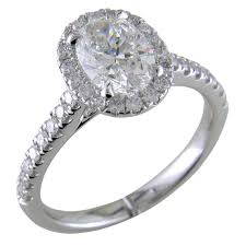 platinum halo engagement rings oval brilliant 1 30 carat forevermark halo engagement ring
