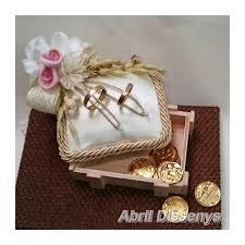 arras de boda porta anillos y arras original para bodas