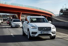 xc90 test drive volvo wants to run the biggest autonomous driving experiment in