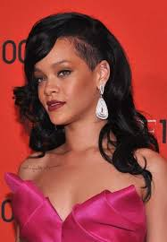 curly shaved side hair 20 rihanna with long hair hairstyles haircuts 2016 2017