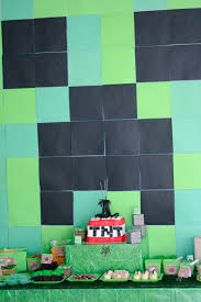 minecraft party decorations the best diy minecraft party decorations especially on a budget
