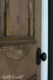 Antique Door Hardware Diy U201cantique U201d Pantry Door Slightly Coastal