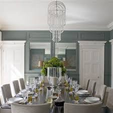 Gray Dining Rooms Blue And Gray Dining Room Transitional Dining Room Helen