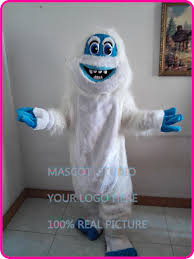 abominable snowman costume mascot winter christmas yeti mascot costume abominable snowman