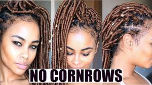 blonde crochet faux locs no cornrows no wrapping free