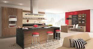 deco cuisine bois cuisine en bois de style design et newsindo co