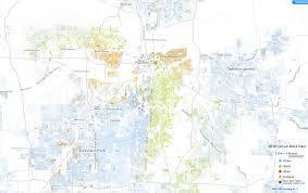 Kansas City Map Racial Dot Map Of Kansas City 1535 X 965 Mapporn