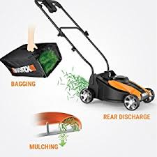 amazon black friday deals on string trimmer amazon com worx 14 inch 24 volt cordless lawn mower with easy