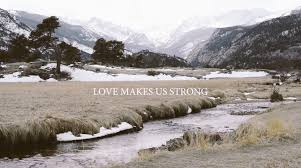 laura hackett park love makes us strong lyric video youtube