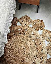 Round Flower Rug by Pleasurable Small Shag Rug Tags Small Shag Rug Circle Jute Rug