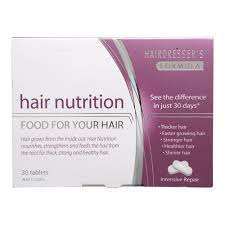 buy hair nutrition food for your hair 30 pack by hair nutrition