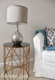 In Home Decor by Decorating Cents Bedroom Side Table Lamp