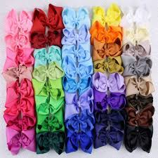 wholesale hairbows 40pcs boutique 4 baby toddler girl infant hair bows with