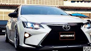 lexus rc300h thailand สวยส ดยอด all new toyota camry ช ดแต ง lexus โดย optiongt youtube