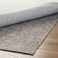 Thin Runner Rug Multisurface Thin Rug Pad Crate And Barrel