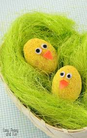 Easter Egg Decoration Fuzzy Easter Eggs Decorating Easy Peasy And Fun