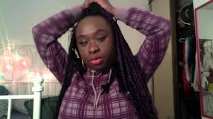 my box braids big forehead youtube