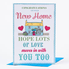 Invitation Card For New Home New Home Card Congratulations Only 99p