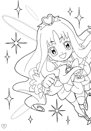coloring page scan page 3 of 4 zerochan anime image board