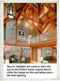 Cupola Lighting Ideas Lighting A Timber Frame Home Timberpeg Timber Frame Post And