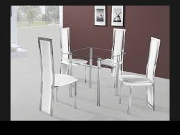 Square Glass Dining Table Small Glass Dining Table And 4 Chairs Entrancing Idea Square Glass