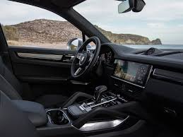 porsche suv interior 2017 new porsche cayenne turbo 2018 driven pistonheads