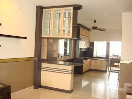 partition wooden design between hall dining interior living room
