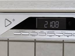 Where To Buy Kitchen Cabinets by Ur2040 Under Cabinet Fm Dab Bluetooth Kitchen Radio Buycleverstuff