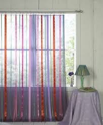Curtains With Ribbons Hang Ribbons For Curtains Apartment Therapy