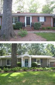 country style houses extraordinary best 25 painted brick ranch ideas on pinterest of
