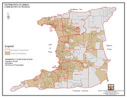 Tobago Map T U0026t Today Maps