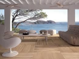 outdoor wood flooring modern house