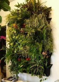 4 pocket hanging vertical garden wall planter for herbs lettuce