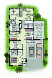 Narrow Home Floor Plans by House Plans Simple Two Story Storey Beach Floor Nz S Hahnow