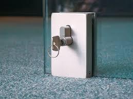Patio Door Locks Hardware Office Frameless Glass Door Locks This Sliding Glass Door Has A