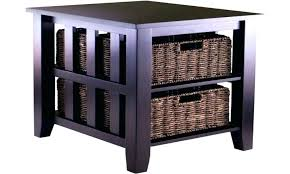 storage tables with baskets u2013 sequoiablessed info