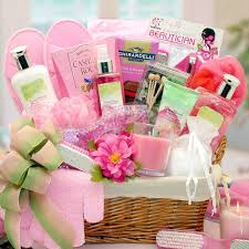 gift baskets for women summer blooms and scents spa basket