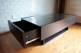 ikea glass top coffee table with drawers coffee table display case glass top ikea with big drawer ideas for