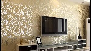 wallpaper design for living room cool room wallpaper design