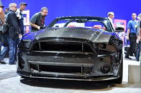 All Black 2013 Mustang Weaving Together Prestige And Performance Top 10 Carbon Fiber