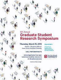 graduate student research symposium duquesne university