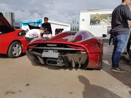 koenigsegg regera transmission someone spotted the koenigsegg regera at a gas station in sweden
