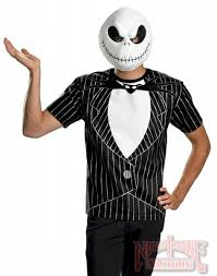 Halloween Costumes Nightmare Christmas Jack Skellington Shirt Costume Nightmare Christmas