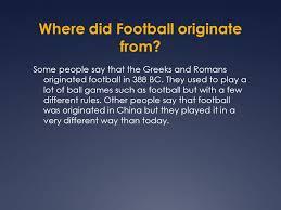 football history yasmeen al idrissi ppt