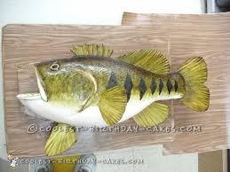bass fish cake coolest bass cake