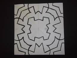 mr vandenberg u0027s art classes symmetrical radial design color
